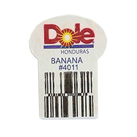 Dole BANANA #4011  22,2 x 30,1 mm paper before 2012  Honduras unique