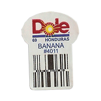 Dole 69 BANANA #4011  22,2 x 30,1 mm paper before 2012 TL Honduras unique
