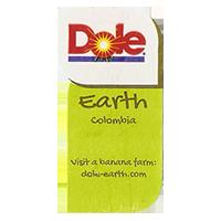 Dole Earth Visit a banana farm:  dole-earth.com  22 x 43 mm paper 2013  Colombia unique