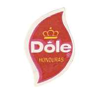 Dole  19,8 x 31,2 mm paper before 2013 Honduras unique