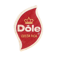 Dole   19,9 x 32 mm paper 2013 Costa Rica unique