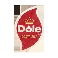 Dole   19,9 x 32 mm paper 2013 Costa Rica unique