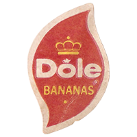 Dole BANANAS  19,6 x 30,7 mm paper 2017 MC Ecuador unique