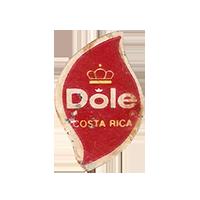 Dole   17,5 x 26,9 mm paper 2012 DK Costa Rica unique