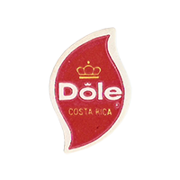 Dole   17,7 x 26,8 mm paper 2012 KČ Costa Rica unique