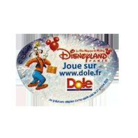 Dole Disneyland  Joue sur www.dole.fr  28,8 x 20 mm paper before 2012 AA unique