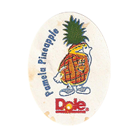 Dole Pamela Pineapple  0 x 0 mm paper 2017 KČ unique