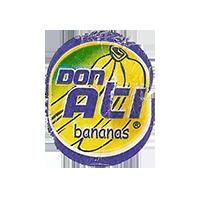 DON ATI bananas  21,2 x 26,5 mm paper 2012 M unique