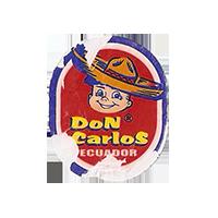 Don Carlos  21,3 x 26,2 mm paper 2012 M Ecuador unique