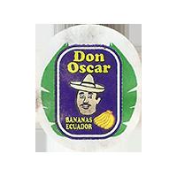 Don Oscar BANANAS  22 x 26,8 mm paper 2017 J Ecuador unique