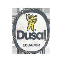 Dusal  0 x 0 mm paper 2017 ŽT Ecuador unique