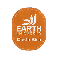 EARTH UNIVERSITY  20 x 25 mm paper 2016 PM Costa Rica unique