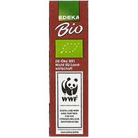 EDEKA Bio WWF De OKO 001 Nicht EU-Landwirtschaft www.edeka.de/bio  15 x 52,8 mm paper 2013 NB unique
