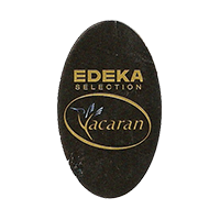 EDEKA Yacaran SELECTION  22 x 37,4 mm paper before 2012 NB unique