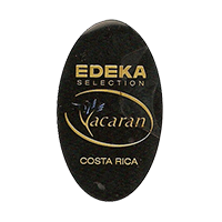 EDEKA Yacaran SELECTION  22,2 x 37,7 mm plastic before 2012 NB Costa Rica unique