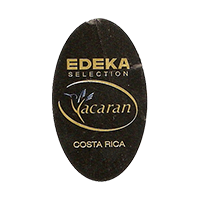 EDEKA Yacaran SELECTION  22,2 x 37,5 mm paper before 2012 NB Costa Rica unique