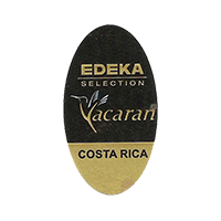 EDEKA Yacaran SELECTION  19,8 x 35,6 mm paper before 2012 NB Costa Rica unique