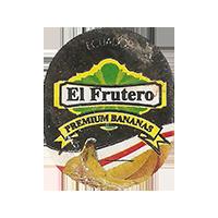 El Frutero PREMIUM BANANAS  21,3 x 26,6 mm paper 2016 M Ecuador unique