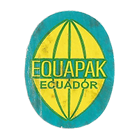 EQUAPAK  18,4 x 23,6 mm paper 2014 M Ecuador unique