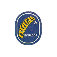 EXCELBAN  18,3 x 23,3 mm paper 2012 DK Ecuador unique