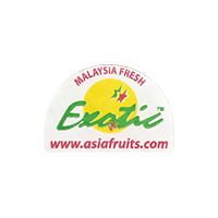 Exotic www.asiafruits.com FRESH  0 x 0 mm paper 2017 ŽT Malaysia unique