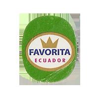 FAVORITA  22 x 26,6 mm paper 2012 DK Ecuador unique