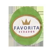 FAVORITA  25 x 29,2 mm paper 2012 DK Ecuador unique