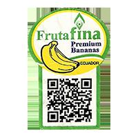 Frutafina Premium Bananas  25,5 x 37,5 mm paper 2015 KT Ecuador unique