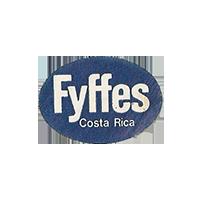 fyffes  24,2 x 17,1 mm paper 2012 DK Costa Rica unique