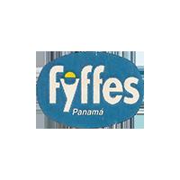 fyffes  25,4 x 18,1 mm paper 2016 CC Panama unique