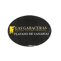 LAS GABACERAS CANARY ISLANDS PRODUCE PLATANO DE CANARIAS  27,9 x 20,2 mm plastic 2012 M Spain unique