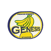 GENESIS PREMIUM BANANAS  27,2 x 21,5 mm paper before 2012 TL Ecuador unique
