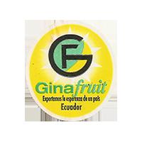 Ginafruit Exportamos la esperanza  de un pais  22,2 x 24,4 mm paper 2014 M Ecuador unique