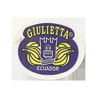 GIULIETTA PREMIUM  29,4 x 25,1 mm paper 2012 KČ Ecuador unique
