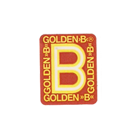 GOLDEN B  16,3 x 20,2 mm plastic before 2012 J unique