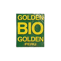 GOLDEN BIO GOLDEN  18 x 21,5 mm paper before 2012 NB Peru unique