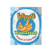 happy bananas   22,1 x 26,8 mm paper 2017 ML Costa Rica unique