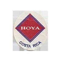 HOYA  22 x 25 mm paper before 2012 NB Costa Rica unique