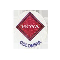 HOYA  22 x 25,2 mm paper 2012 J Colombia unique