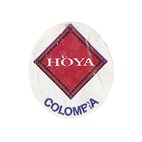 HOYA  22,4 x 25,5 mm paper 2016 J Colombia unique