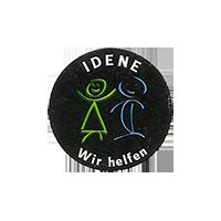IDENE Wir helfen  21,9 x 21,9 mm paper before 2012 unique