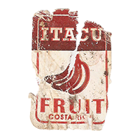 ITACU FRUIT  21,6 x 32,8 mm paper 2017 M Costa Rica unique