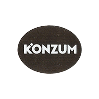 KONZUM  27,6 x 21,1 mm plastic 2014 J Croatia unique