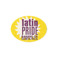 latin PRIDE BANANO DE  24,2 x 17,7 mm paper 2012 KČ Costa Rica unique