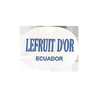 LEFRUIT D'OR  0 x 0 mm paper 2018 DP Ecuador unique  v