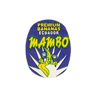 MAMBO PREMIUM BANANAS  18,4 x 23,5 mm paper 2012 KČ Ecuador unique