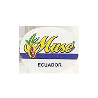 Muse  23,5 x 18,6 mm paper 2012 DK Ecuador unique