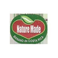 Nature Made BANANO de  25,2 x 20 mm paper before 2012 J Costa Rica unique