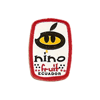 nino fruit  17,1 x 24,6 mm paper before 2012 NB Ecuador unique
