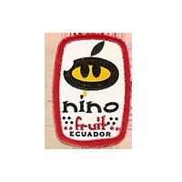 nino fruit  17,1 x 24,6 mm paper before 2012 NB Ecuador unique